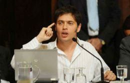 Nevertheless Kicillof said the government will continue with 'heterodox and creative' measures