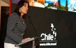 Jacqueline Plass said Chile received almost 3.5 million tourists last year