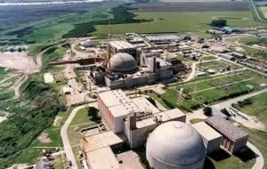 Argentina is a leading country in developing atomic energy such as that from the Atucha plant