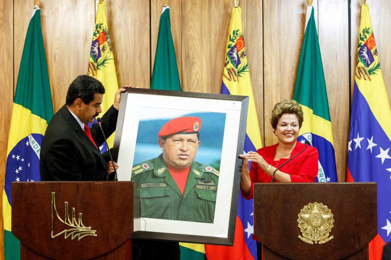 venezuelan government chavez and maduro essay Venezuela is in the grip of a major crisis for the last month, hundreds of thousands of protesters demonstrating against the government of president nicolas maduro have been met by riot police.