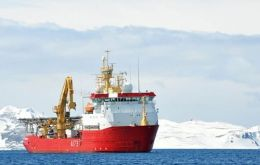HMS Protector, the Royal Navy's Ice Patrol Ship
