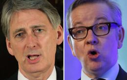 Hammond and Gove want out but prepared to let PM Cameron negotiate with Brussels