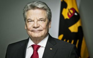 President Gauck in Sao Paulo to mark the start of the Year of Germany in Brazil