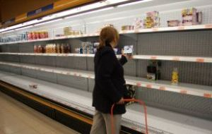 Mercosur members have pledged to help fill the empty shelves of Venezuelan supermarkets