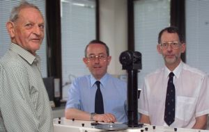 Dr Farman together with Brian Gardiner and Jon Shanklin published the discovery in the Journal Nature in 1985 (Photo: BAS)