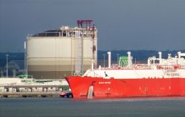The plant will have a processing capacity of 10 million LNG cubic metres and should begin production in 2015