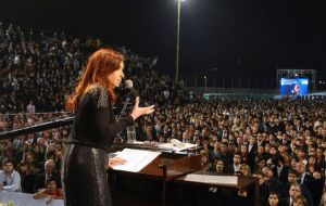 The Argentine president defending her controversial judiciary reform