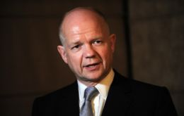 "Hague said all Conservatives ""would like to be able to proceed with legislation in this Parliament...but we are in a coalition"""