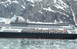 Simulation included a replay of a response exercise conducted during the recent Antarctic season with the 1,500-passenger Veendam