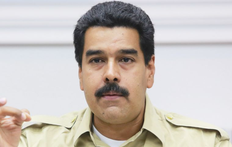 The Venezuelan president made the revelation during one of his 'Government in the Streets' act