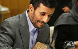 President Mahmoud Ahmadinejad endorsed the memorandum without Congress approval