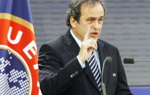 """Gibraltar will not play qualifying matches with Spain - we also have this situation with Armenia and Azerbaijan"", said Platini"