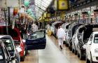 Auto manufacturing in April was the main boost over a year ago