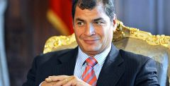 President Correa also blasted the OAS, the Inter-American HHRR commission and the US