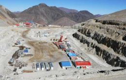 Pascua-Lama project straddles on the Andes between Chile and Argentina