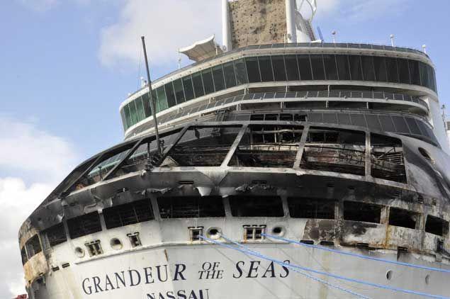 royal caribbean grandeur of the seas suffers accident