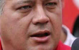 "Cabello: ""President Santos is putting a bomb in the good relations that President Chavez"""