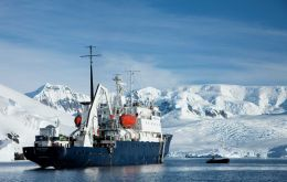 The expedition ship Polar Pioneer is an ice-strengthened vessel that provides simple and comfortable polar cruises to Antarctica.
