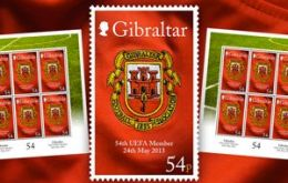 The stamp with the GFA founding year clearly visible, 1895 (before Spain, 1913)( Photo: Chronicle.Gi)