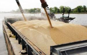 Soy shipments are up 81% compared to the same period a year ago