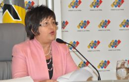 """Election results in Venezuela are and will continue to be a reflection of the will of the people"" said Tibisay Lucena"