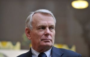 "PM Ayrault told parliament: ""France will go as far as using its political veto. This is about our identity, it's our struggle"""