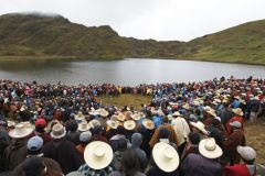 The 5bn Conga project demands emptying Lake Perol