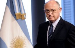 Timerman heads the Argentine delegation which includes governors and lawmakers