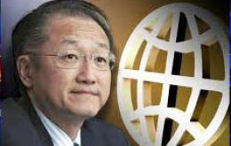 "When that happens, ""borrowing costs will go up and we think they will also go up for developing countries"", said WB president Jim Yong Kim"