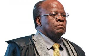 Justice Joaquim Barbosa became notorious during the greatest political system corruption case in decades