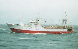 The fishing vessel Piscator (IMO: 8801163) is sailing to Pto. Madryn