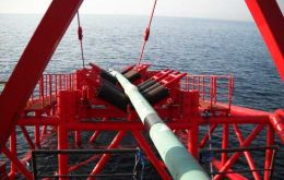 The pipes which could be up to 6.5 kilometres long connect the floating production, storage and offloading (FPSO) vessel to the Sea Lion reservoir