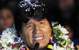 Morales accused Washington and suggested closing down the US embassy in La Paz