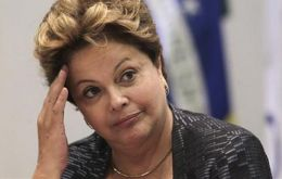The wrath of the streets and economic data has fallen upon President Rousseff