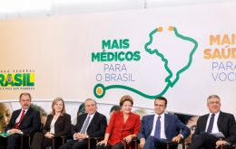 President Rousseff was responding to Brazilian medical associations that question the standards of Cuban medical schools