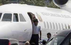 Bolivian president Evo Morales and his plane were delayed on alleged suspicions that he was flying with leaker Edward Snowden