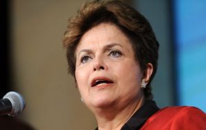President Rousseff is expected at the White House next October