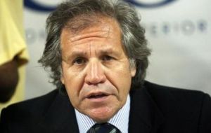 Minister Almagro is confident Paraguay will be back next August 15