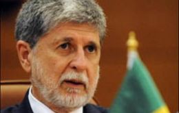 Defence minister Celso Amorim evidently was furious with the incident and recalls it at a very convenient moment