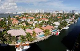 Argentines have invested an estimated two billion dollars in houses mostly in Miami