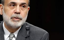 Bernanke said if needed the Fed is prepared to employ all its tools, including an increase in purchases for a time
