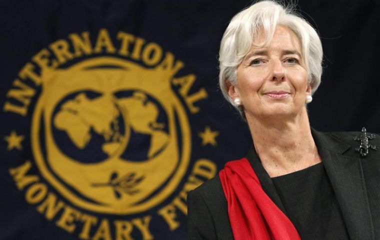 Lagarde sent a letter to plaintiffs anticipating the IMF move before the US Supreme Court