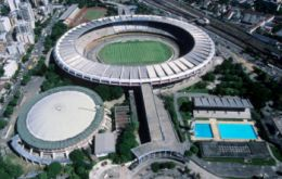 Maracana, the country's largest and most state of the art stadium.
