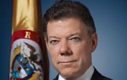 "There are things we do not agree on but we have the responsibility to work together"", said Colombian leader Santos"