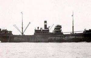 Steel hulled SS Gairsoppa and its valuable cargo was sank in February 1941