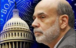 """Appropriate to begin to moderate the monthly pace of purchases later this year"" Bernanke told the US Congress"