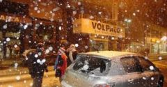 In Florianopolis it snowed for t