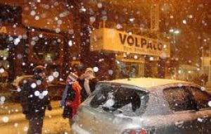In Florianopolis it snowed for the first time on record and in Curitiba after 38 years
