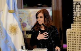 The Argentine president also announced the mid year bonus will be exempt of income tax