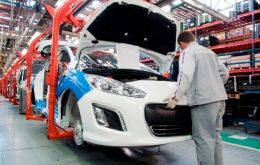 Car production in the first half of the year was up 19.2%